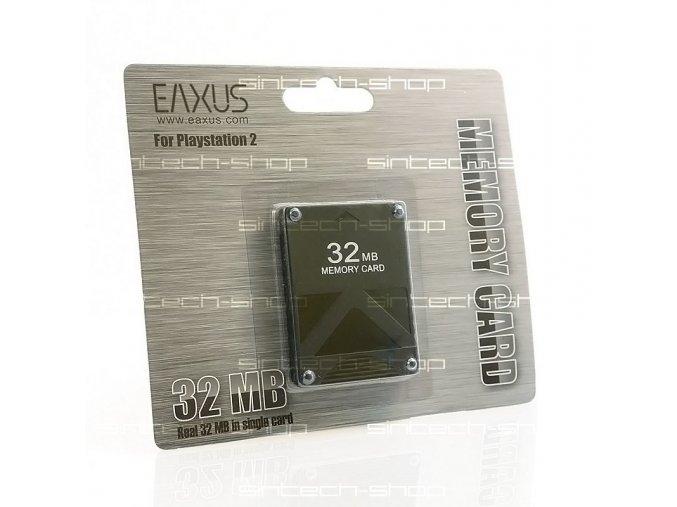 PS2 32 MB paměťová karta