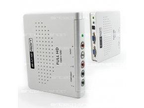 HD COMPONENT na VGA konvertor box