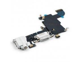 iPhone 6S nabíjecí konektor se sluchátkovým jackem a flexem, bílý