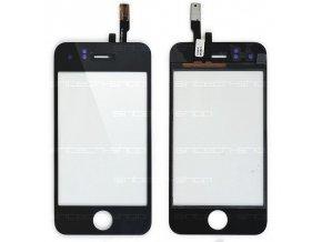 iPhone 3GS digitizer černý (čelní sklo a dotyk)