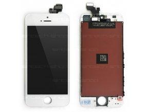 iPhone 5 LCD displej + dotyk - bílý, SINTECH© Premium