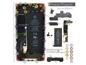 Phone-Magnet: profesionální magnetická podložka pro šrouby iPhone 4