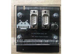 """Joystick-Interface """"ANGRY INVADERS"""" pro ZX Spectrum, černý"""