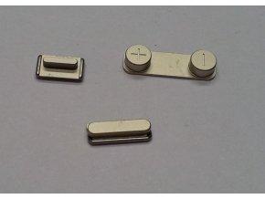 iPhone 5S zlatý, set tlačítek (volume, mute a power button)