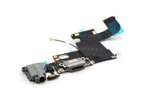 iPhone 6 nabíjecí konektor se sluchátkovým jackem a mikrofonem, šedý