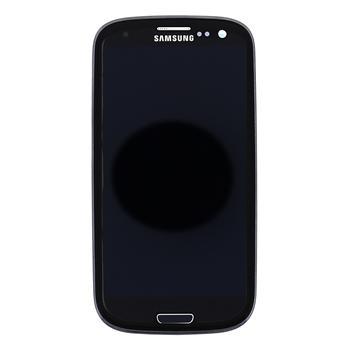 Samsung i9301 Galaxy S3 Neo Black LCD display + Dotyk + Přední kryt