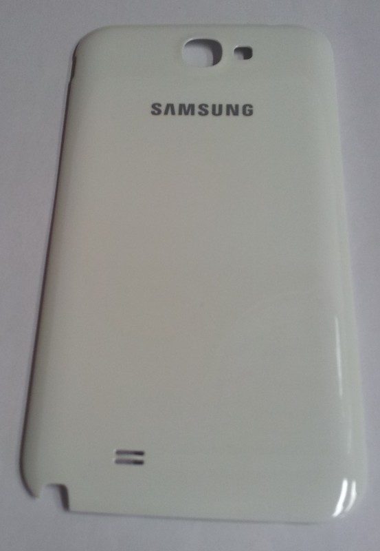 Samsung Galaxy Note 2 GT-N7100 kryt baterie, bílý