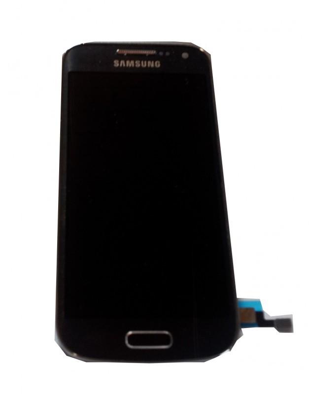 Samsung Galaxy S4 Mini i9195 komplet displej s LCD a rámem černý
